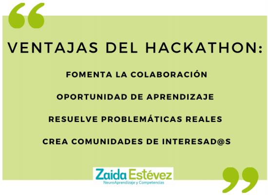 Ventajas Hackathon